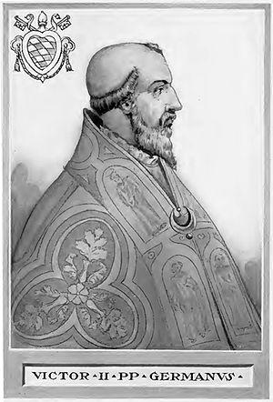 Pope Victor II - Image: Pope Victor II