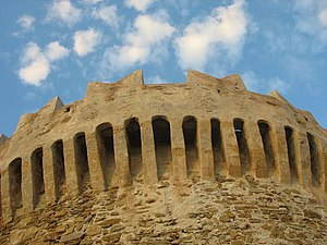 Populonia - Detail of the fortress of Populonia.