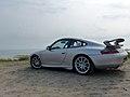 Porsche GT3 at Maasvlakt Beach (9296195976).jpg