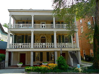 Port Deposit, Maryland - The Gerry House was built in 1812. Lafayette was entertained here in 1824.