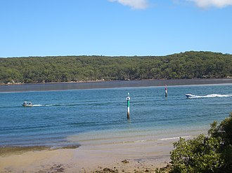 Port Hacking - Image: Port Hacking estuary 2