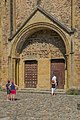 Portal of the Saint Faith Abbey Church.jpg