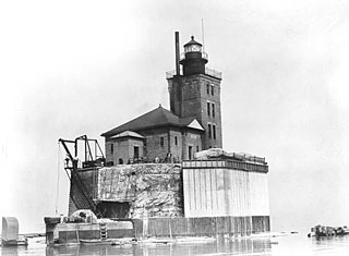 Port Austin Light lighthouse in Michigan, United States