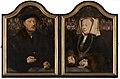 Portrait Diptych of Johann von Rolinxwerth and his Wife, Christine von Sternberg by Bartholomäus Bruyn Mauritshuis 739.jpg