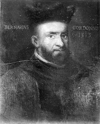 Bernard de Gordon - Portrait of Bernard de Gordon