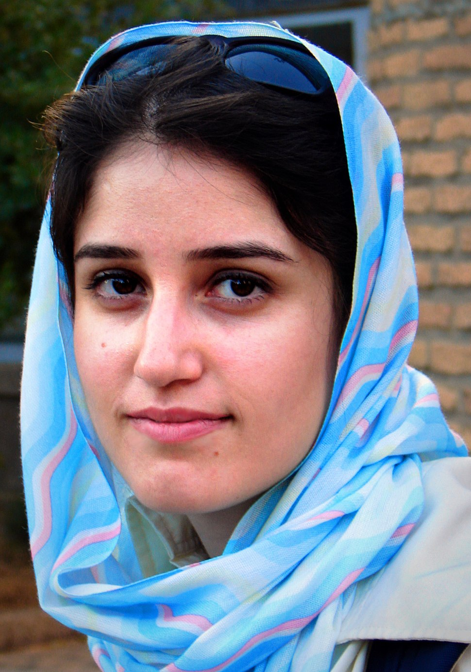 Portrait of a Persian lady in Iran, 10-08-2006 (cropped)