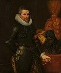 Portrait of an Officer by Jan van Ravesteyn and workshop Nationaal Militair Museum (4).jpg
