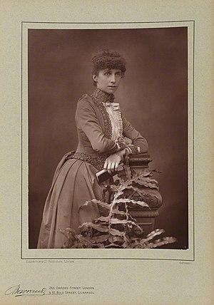 Rosalind Ellicott - An 1890 portrait of Ellicott, by Herbert Rose Barraud