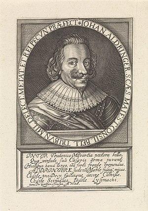 Portret van Johann graaf van Aldringen, RP-P-1908-3944