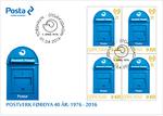 Postverk Føroya 40 ár - Fyrstadagsbjálvi við fýrablokkum-2016.png