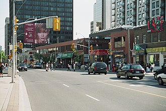 Deer Park, Toronto - Yonge Street north of St. Clair Avenue in Deer Park
