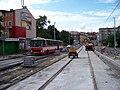 Průběžná, rekonstrukce TT, zastávka Na Hroudě (02).jpg