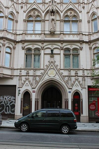 File:Praha, Farní sbor Českobratrské církve evangelické na Vinohradech (2).jpg