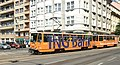Praha, Karlovo náměstí, tramvaj 8699.jpg