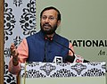 Prakash Javadekar addressing at the inauguration of the 'National Consultation on Revised Accreditation Framework', organised by the National Assessment and Accreditation Council (NAAC), in New Delhi.jpg