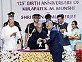 Pranab Mukherjee conferred the Honorary Membership of Bharatiya Vidya Bhavan upon Shri R. Narayan Murthy, the face of Information Technology in India and founder of the Infosys Technologies.jpg