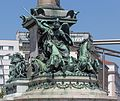 Praterstern in Vienna, Monument for Admiral Tegetthoff-4920-Bearbeitet.jpg