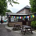 Prayer flags at the tea room of Samyé Ling - panoramio.jpg