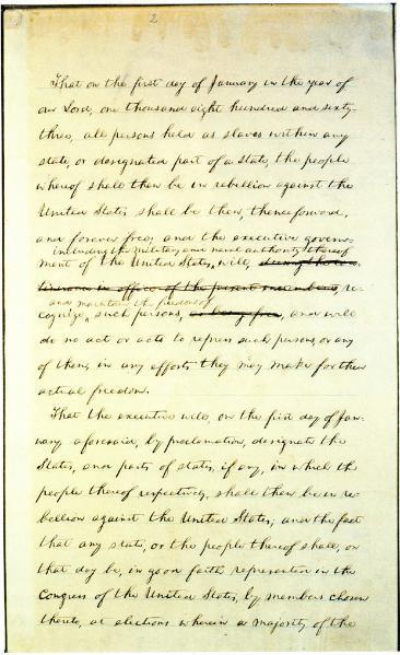 File:Preliminary Emancipation Proclamation (22 September 1862 draft).djvu