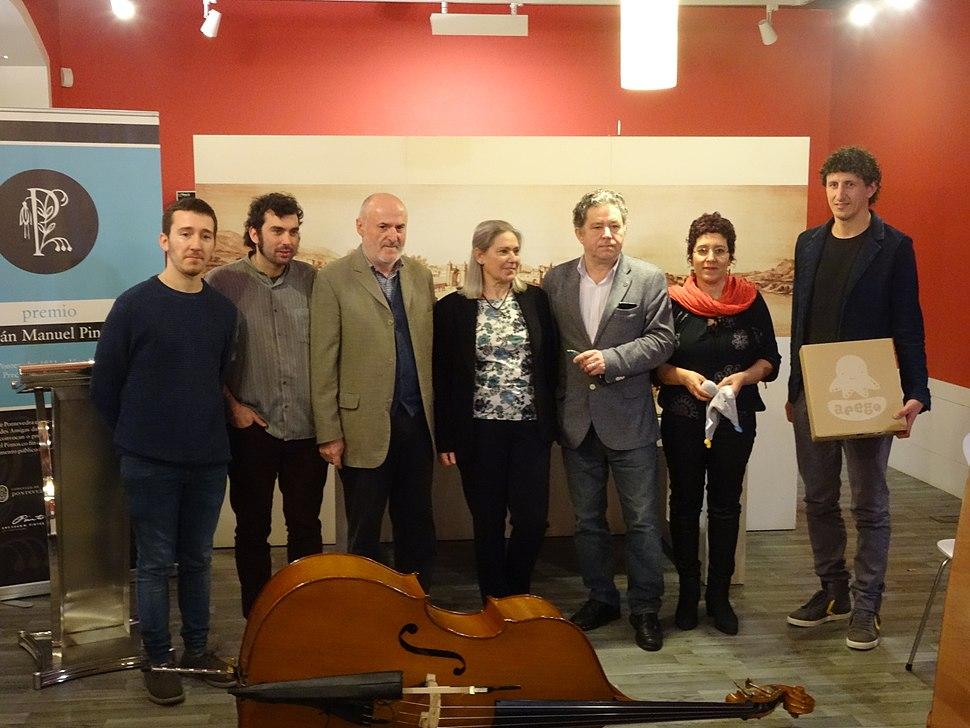 Premio Xoán Manuel Pintos 2018