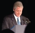 President Clinton at a Dinner Honoring Rep. John Lewis (2000) 05.png