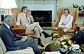 President Ronald Reagan with Sandra Day O'Connor and William French Smith.jpg