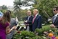 President Trump Departs for North Carolina (48707665393).jpg