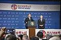 President Trump and Secretary Pompeo Speak to the Press (46512867264).jpg
