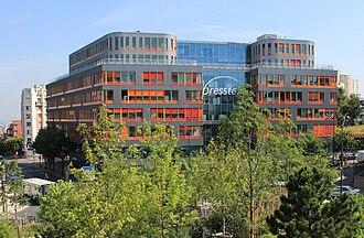 Presstalis - New Presstalis headquarters, located in the Porte des Lilas area in Paris.