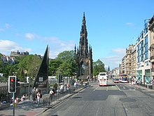 The mall, then called Princes Mall, bottom left, in 2006 Princes Street, Edinburgh, 3 June 2006.jpg