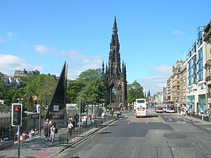 Waverley Mall - The mall, then called Princes Mall, bottom left, in 2006