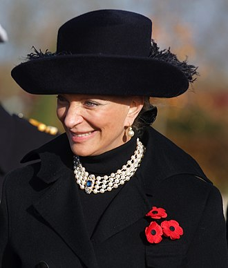 Princess Michael of Kent - Princess Michael of Kent on Armistice Day, 2008