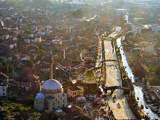 Turks in Kosovo - Image: Prizen kosovo