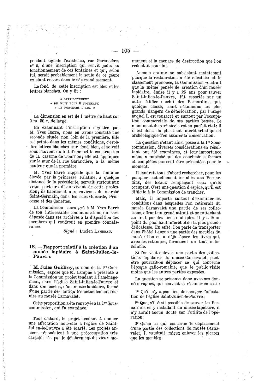 Page Proces Verbal De La Commission Municipale Du Vieux