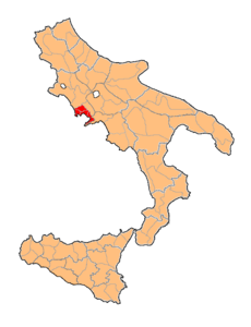 Provincia di Napoli Two Sicilies map.png