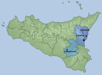 Roman Catholic Archdiocese of Catania - Province of Catania
