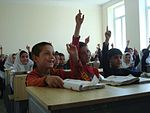 Provincial Reconstruction Team Panjshir, Afghan leaders celebrate girls' school opening DVIDS183078.jpg