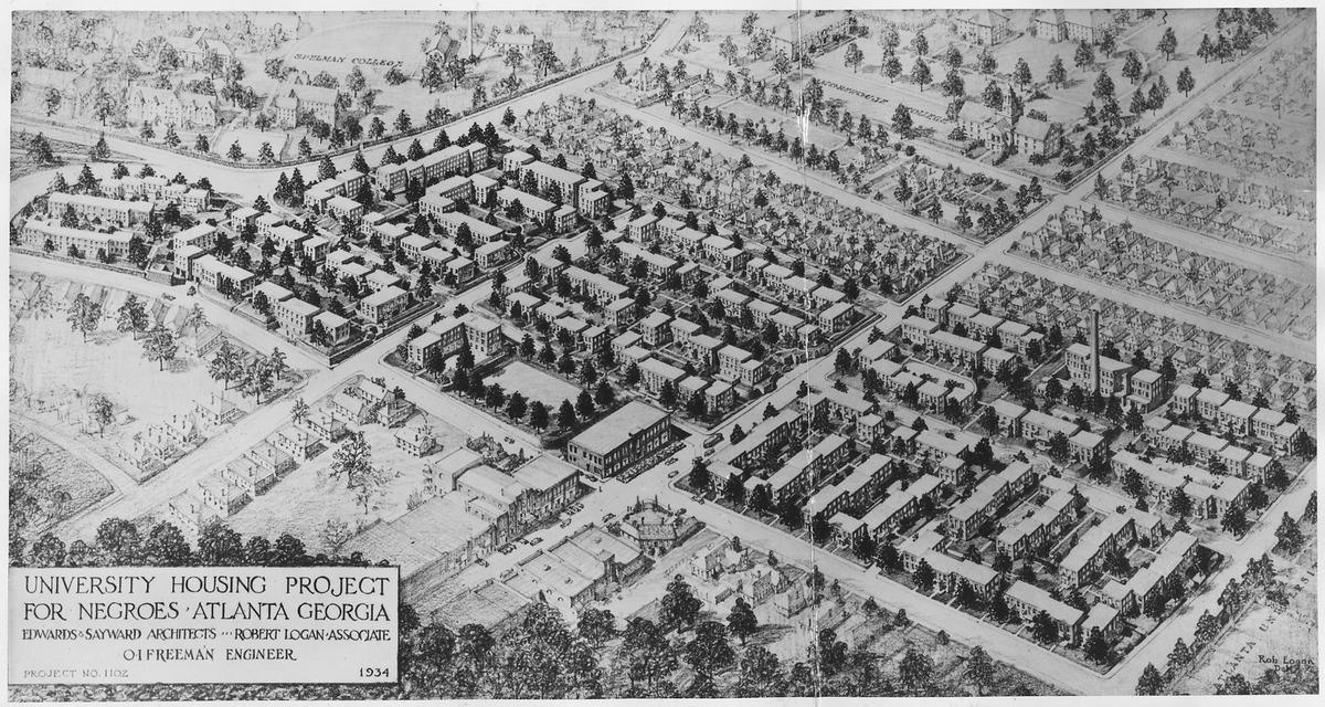 Demolished Public Housing Projects In Atlanta