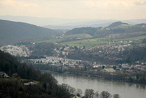 Puchenau - Image: Puchenau Donau
