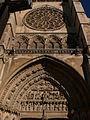 Puerta del Sarmental. Catedral de León.jpg