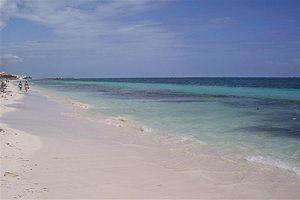 Puerto Morelos - Image: Puerto Morelos Beach 2007