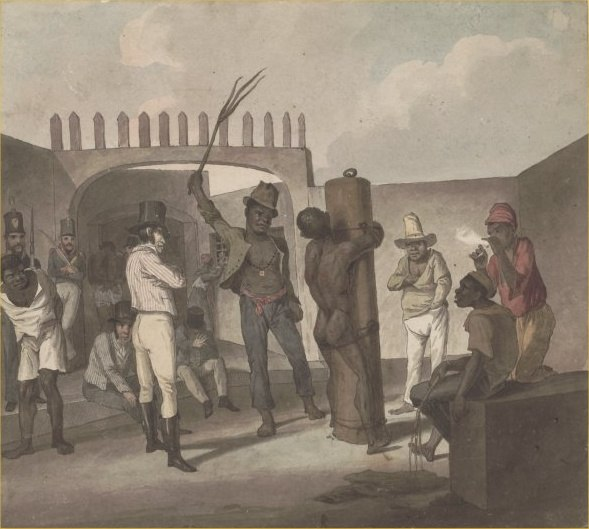 Punishing negroes at Calabouco