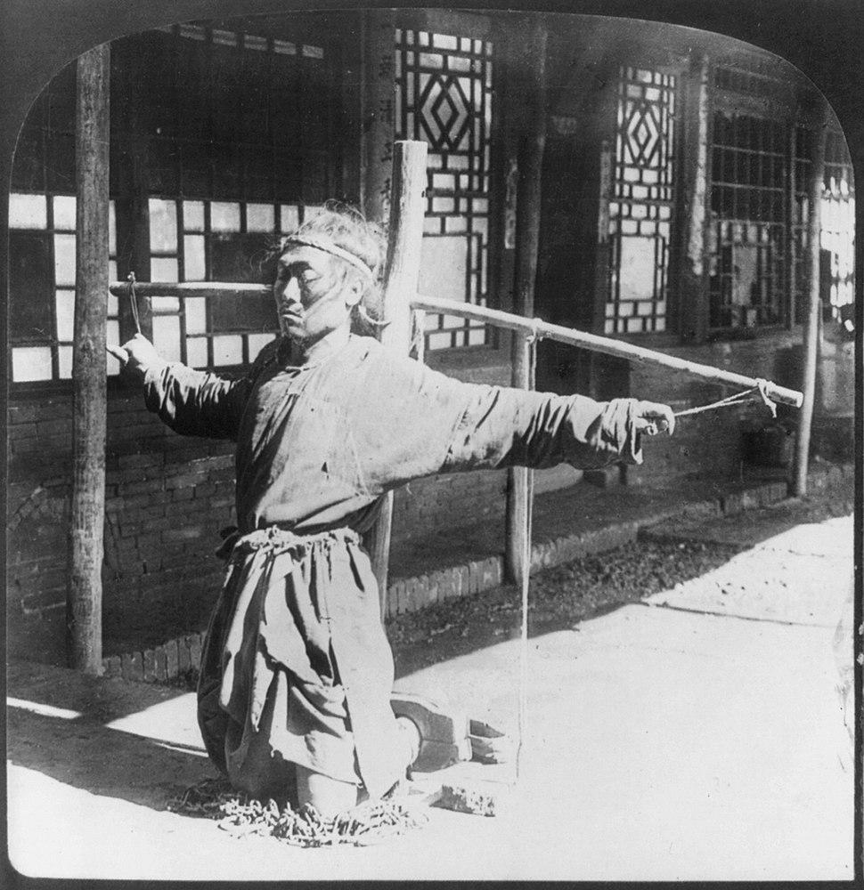 Punishment china 1900