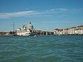 Punta della Dogana i principi del Gran Canal de Venècia.JPG