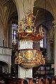 Purgstall - Kirche, Kanzel.JPG