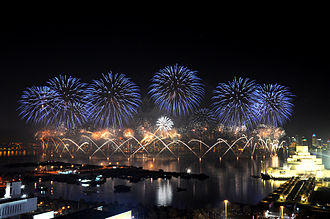 Qatar National Day - Image: QND Fireworks