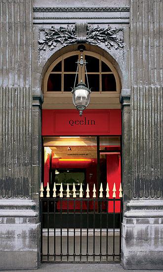 Qeelin - Qeelin Boutique in the Palais-Royal in Paris.