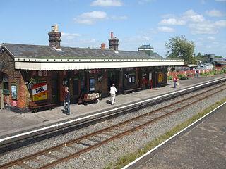 Quainton Road railway station Former railway station in Buckinghamshire; now a railway museum