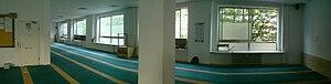 Al-Quds Mosque Hamburg - Interior of al-Quds