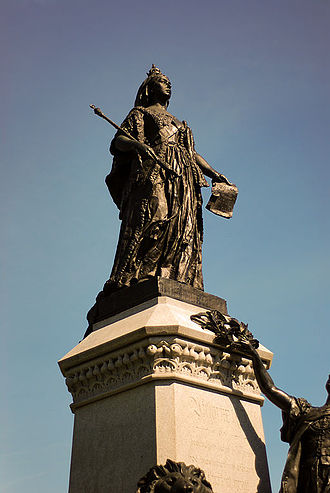 Cultural depictions of Queen Victoria - Statue of Victoria by Louis-Philippe Hébert on Parliament Hill. Ottawa, Canada.